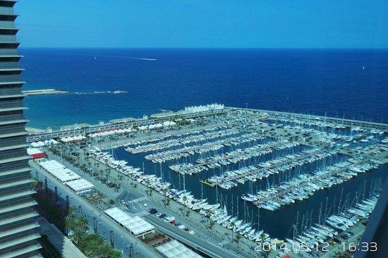 Hotel Arts Barcelona: Это Вид из Нашего Номера !