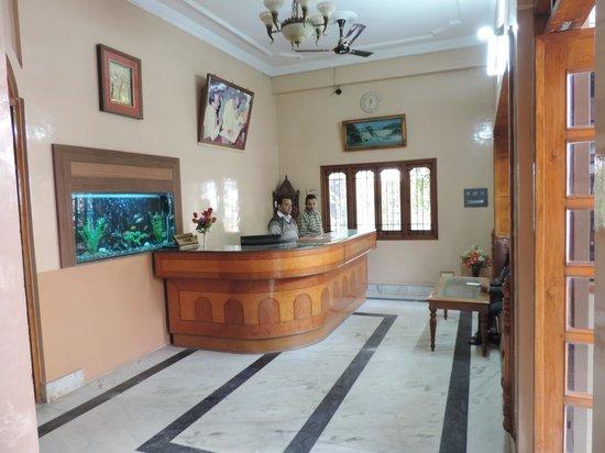 Shivam Hotel: Reception