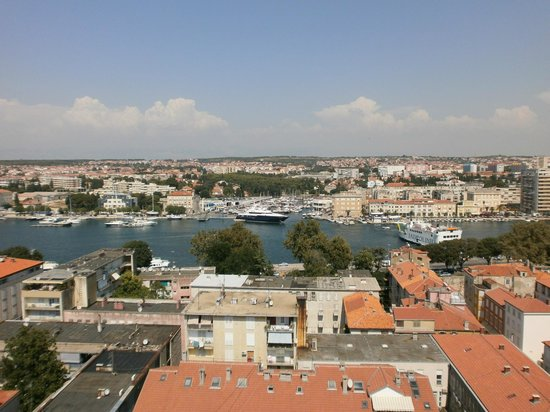 Zadar Cathedral: View from the tower