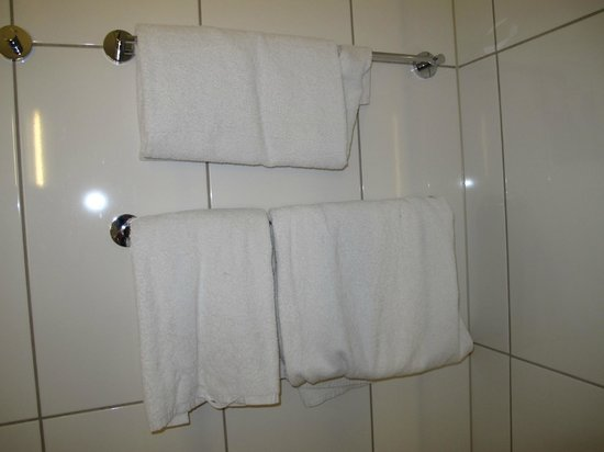Scandic Copenhagen: 2 bath and 2 hand towels only