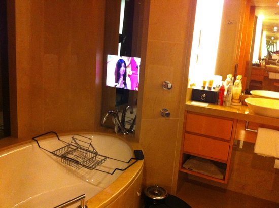 InterContinental Shanghai Expo: ванная