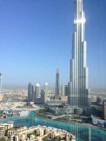 The Address Downtown Dubai: view form our room