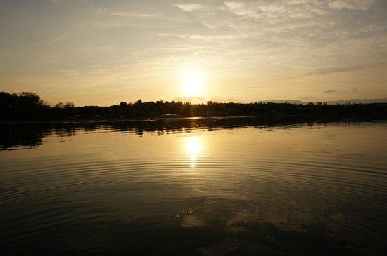 Lac Léman (Lac de Genève) : plage d'excenevex