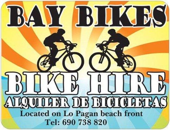 Lo Pagán, España: bay bikes