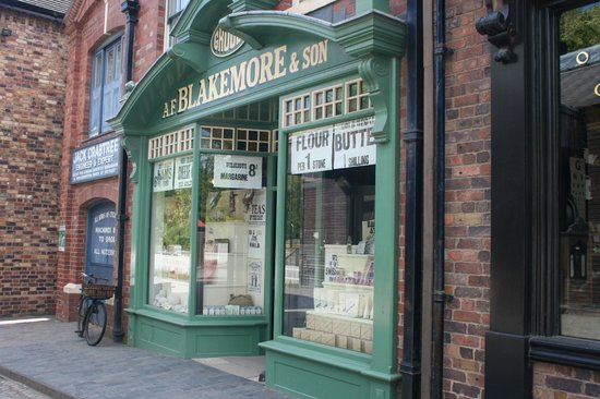 Blists Hill Victorian Town : Grocers shop
