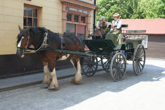 Blists Hill Victorian Town : Anyone for a ride?