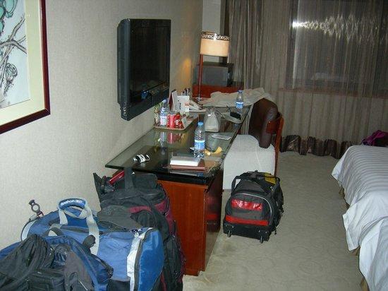 Grand Noble Hotel: plenty room or luggage