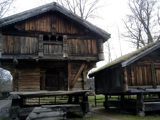 The Norwegian Museum of Cultural History: One of the oldest buildings
