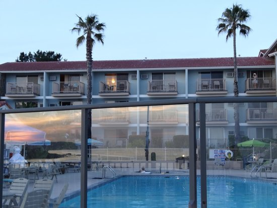 Shore Cliff Hotel : Blick aufs Hotel