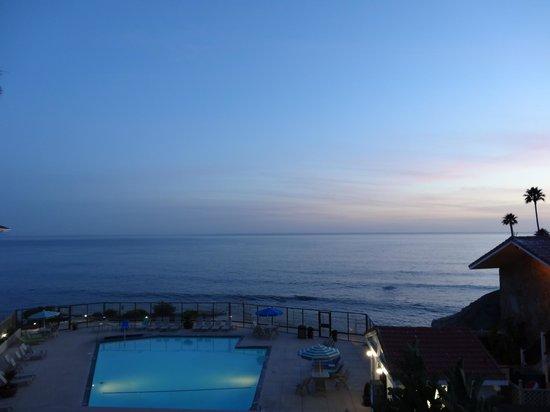 Shore Cliff Hotel : Blick vom Hotelzimmer