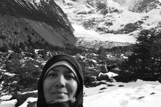 explora Patagonia: y el glaciar al fondo!