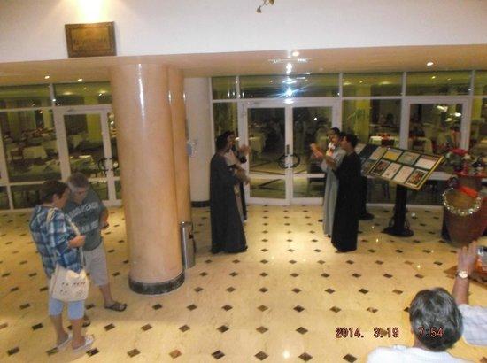 El Malikia Resort Abu Dabbab: wellcome restoran
