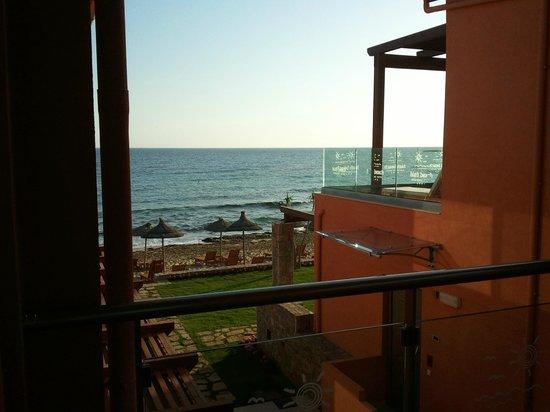 High Beach Hotel : uitzicht vanaf de kamer