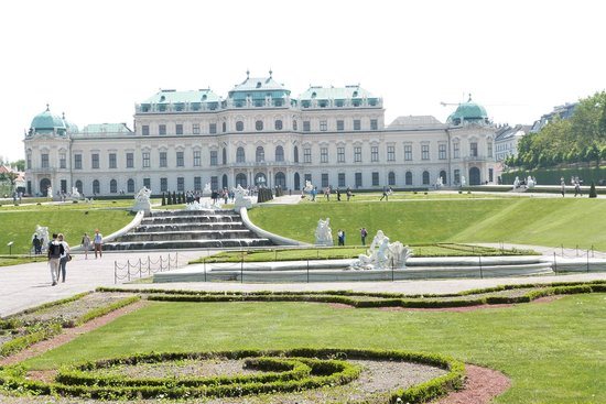 NH Wien Belvedere: Schloss Belvedere, gleich neben dem Hotel