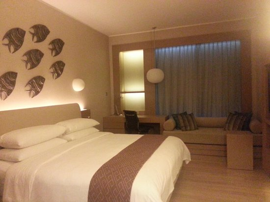Hotel Jen Puteri Harbour, Johor: clean, new and neat.