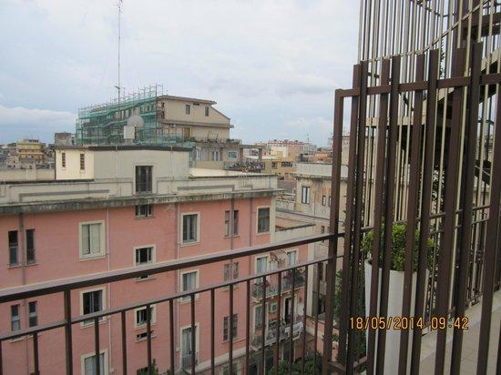 Best Western Hotel Mediterraneo: Utsikt från balkong