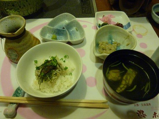 Gyokusen : 麦ご飯