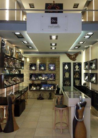 Michaello Jewellery store entrance
