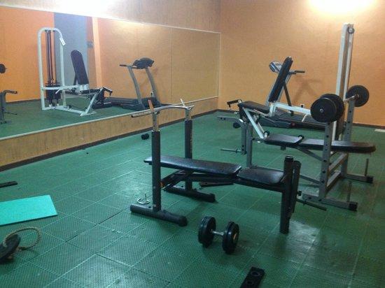 Club Caleta Dorada: No weights