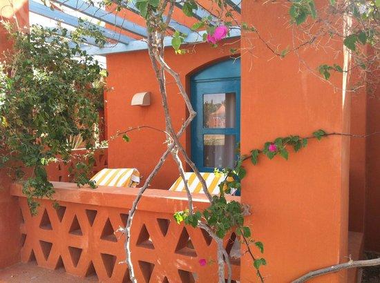 Sheraton Miramar Resort El Gouna: наша терраса