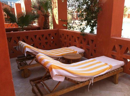 Sheraton Miramar Resort El Gouna: терраса