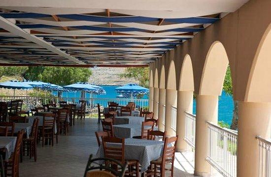 Lindos Royal Hotel: Restaurant du Club Marmara