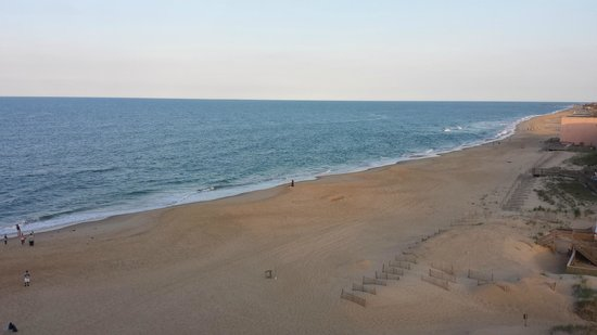 Comfort Inn South Oceanfront: Beach view