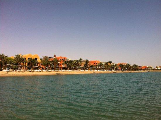 Sheraton Miramar Resort El Gouna: пляж на море