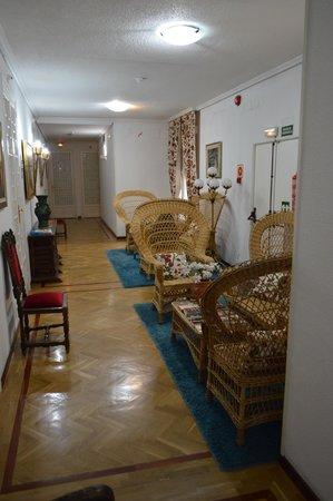 Hostal Triana: Le salon du 1er étage