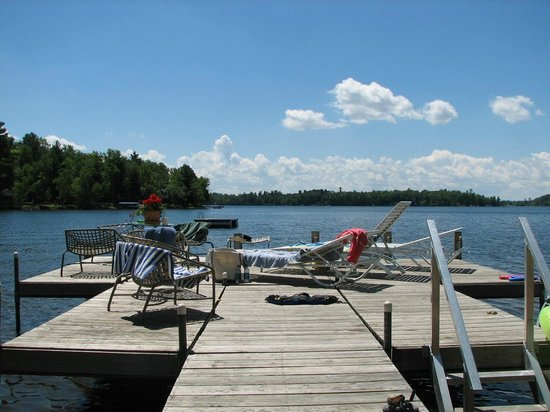 Brainerd, MN: Summer dock