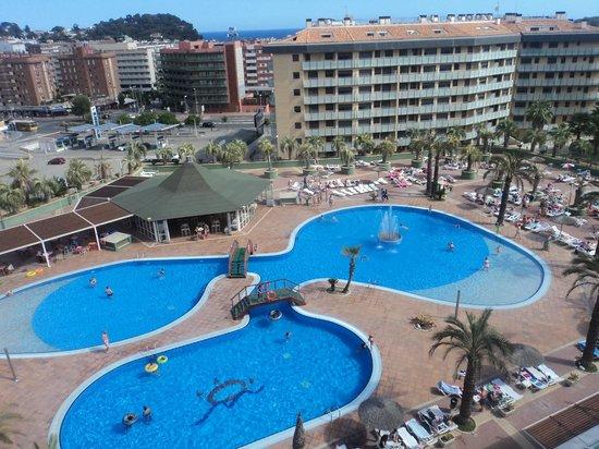 Aparthotel Costa Encantada : Balcony view