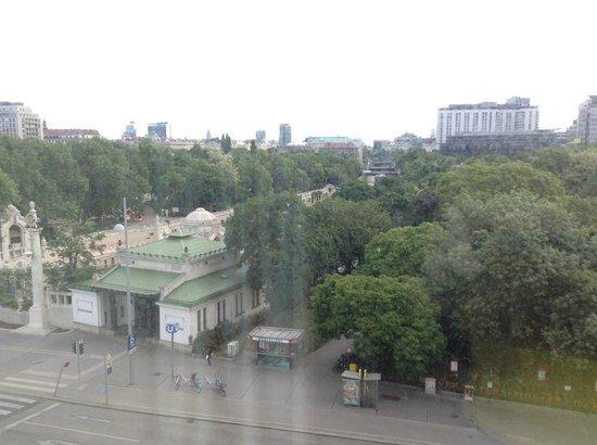 InterContinental Wien: вид из окна