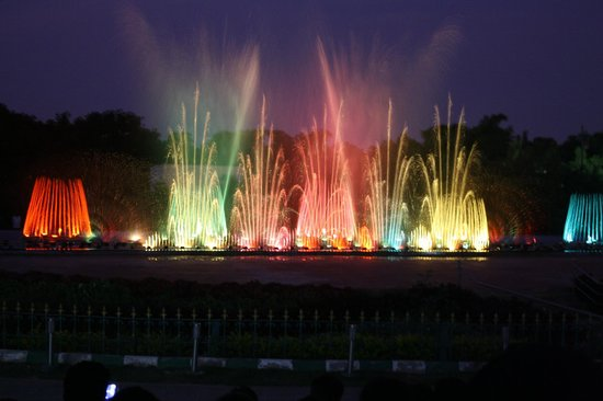 attractive musical fountain of jp park traveller reviews jp park