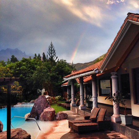 Aranwa Sacred Valley Hotel & Wellness : vista desde el bar :)