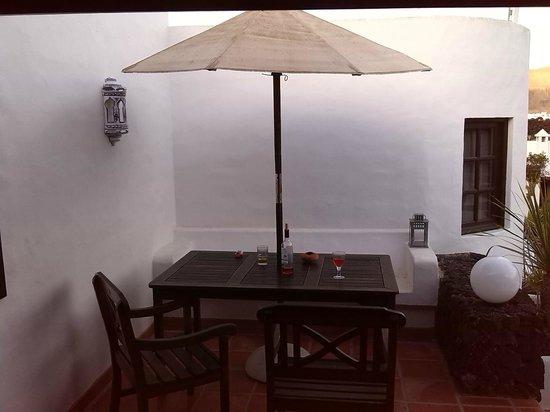 Casa Teiga : Terrasse
