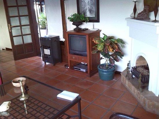Casa Teiga : Wohnzimmer