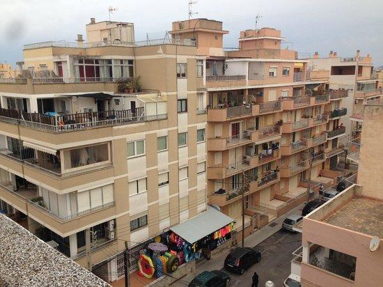 Riutort: widok z balkonu
