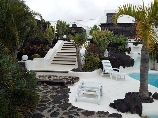 Casa Teiga: Außenanlage