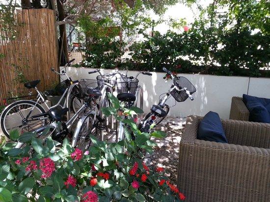 The Rothschild 71: Bike corner