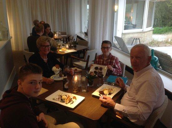 Grand Hotel Opduin: Fantastisch gegeten!