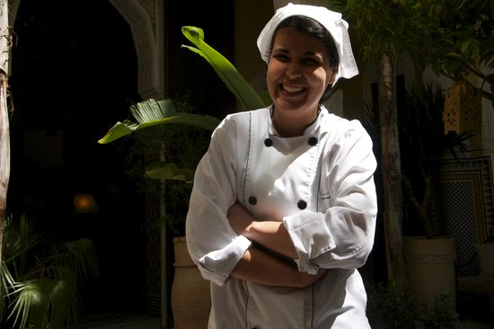 Riad Le Calife: Fatima the chef