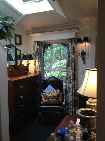 Porches on the Towpath : from bathroom door