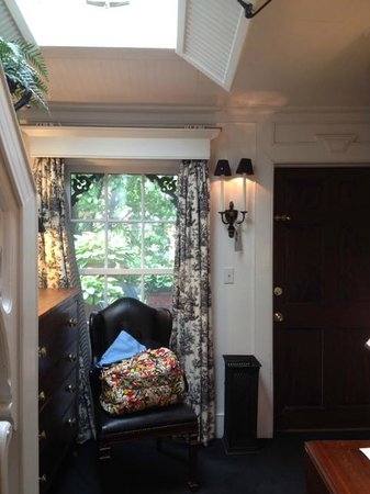 Porches on the Towpath : across the room to balcony