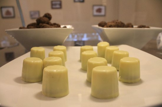 Bombones caramelo de maracuyá