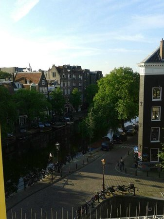 Amsterdam Wiechmann Hotel: Panorama dall'ultimo piano