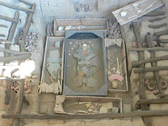 Museo Tumbas Reales del Señor de Sipán: tombe del señor de sipan, nord pérou