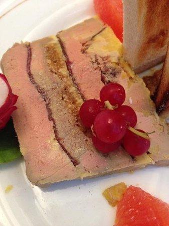 Le Bois Perché : pressé de foie gras
