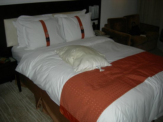 Holiday Inn Express Chengdu Gulou: Soft comfy beds!