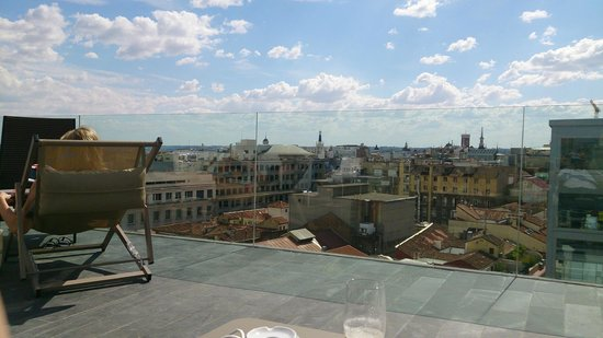 NH Collection Madrid Suecia: Roof Terrace- Waaoouww