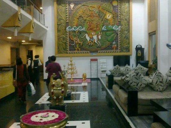 Hotel Annamalai International: Lobby
